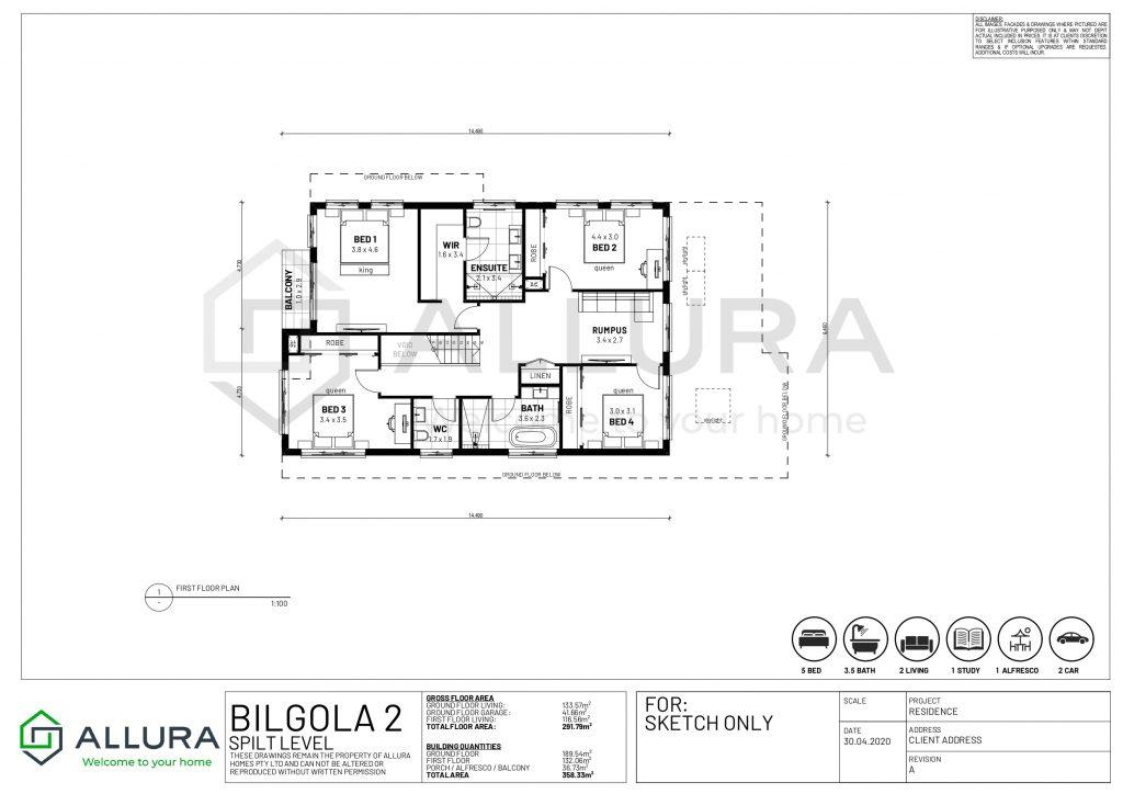 Bigola Floor Plans